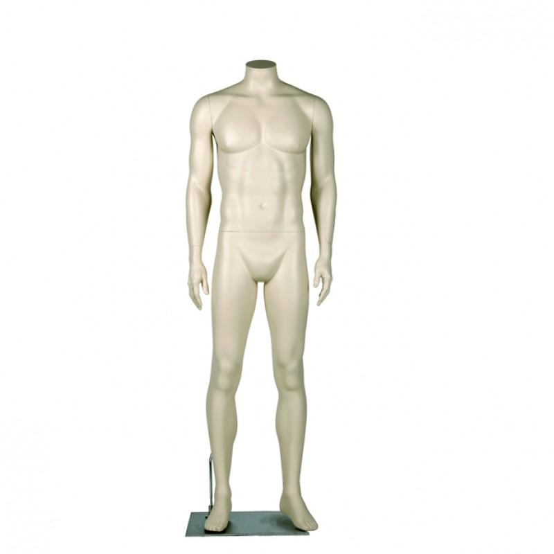 """Darrol Herrenfigur - 700er Serie. Headless Mannequins mit """"Neck-Lock"""" System"""