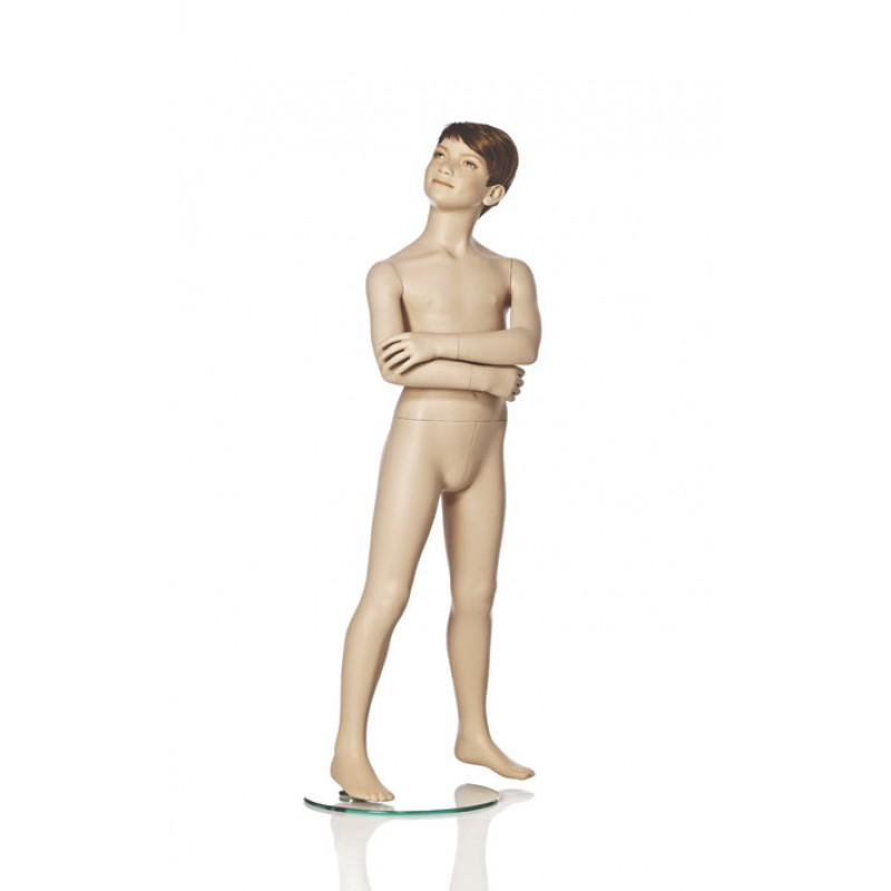 Hindsgaul Naturalistische Jungenfigur Größe 120 cm