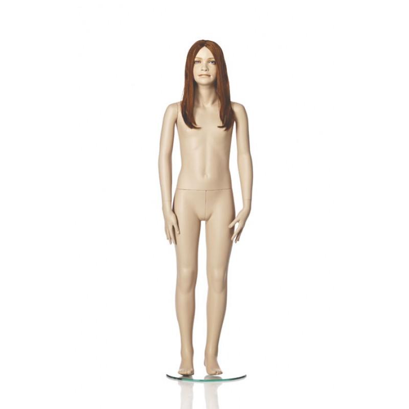 Hindsgaul Naturalistische Mädchenfigur Größe  140 cm