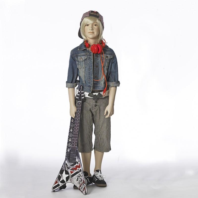Hindsgaul Naturalistische Jungenfigur  Größe 130 cm