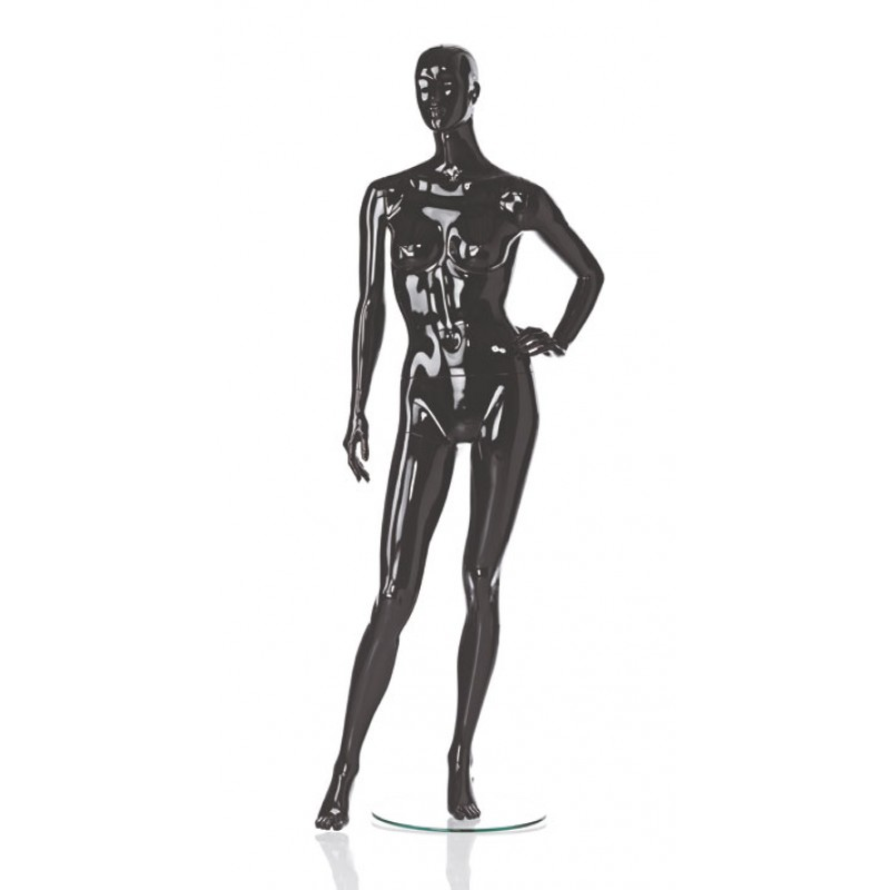 Hindsgaul High Gloss Black Damenfigur