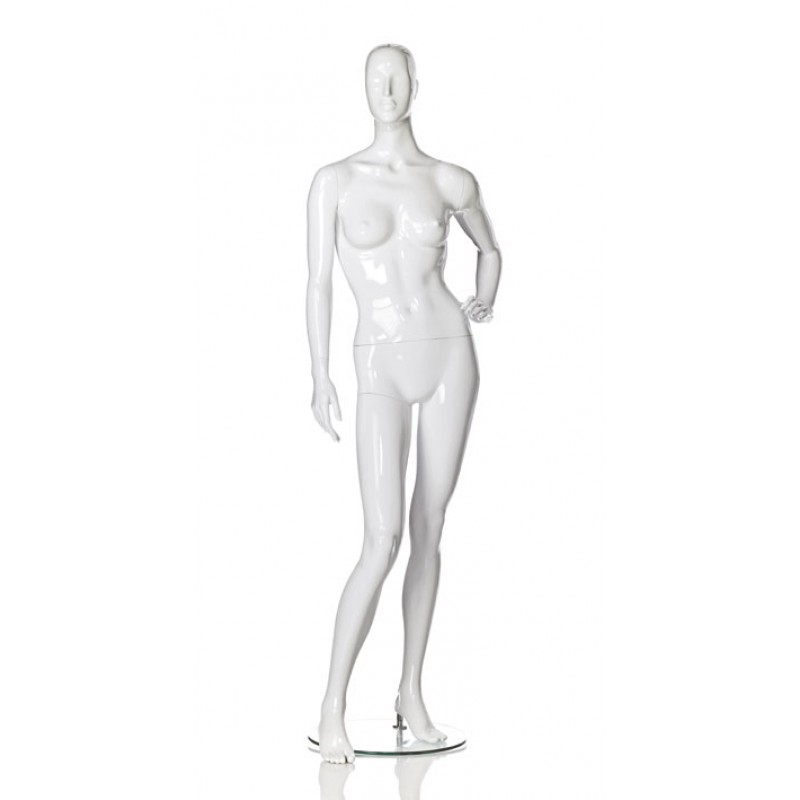 Hindsgaul High Gloss White Damenfigur