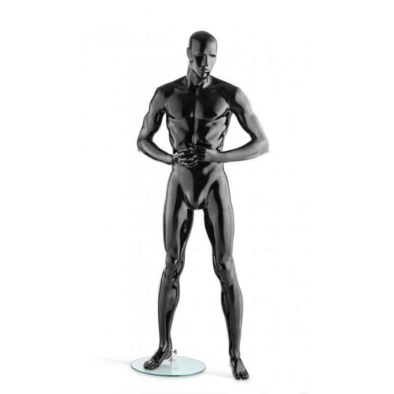 Hindsgaul High Gloss Black Herrenfigur