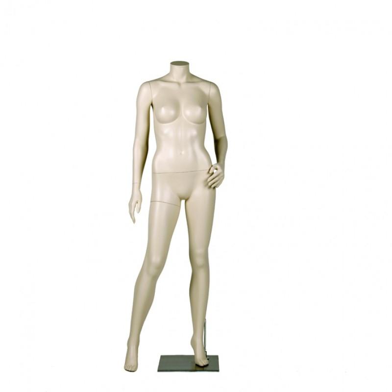 Variable Damenfigur – kopflos – Linke Hand auf Hüfte - Darrol 700-Serie – mit Neck-Lock System