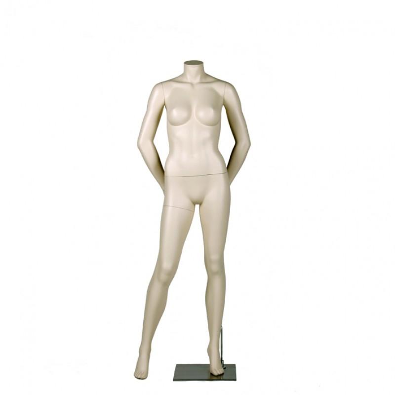 Variable Damenfigur – kopflos – Arme auf dem Rücken - Darrol 700-Serie  – mit Neck-Lock System